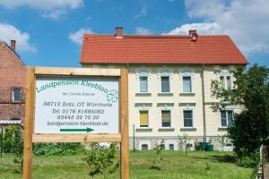 Herzlich willkommen in der Landpension-Kleeblatt! (Stand 07/2016)