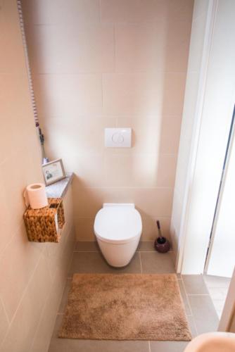 Gemeinsamer Etagen-Dusch- und Waschbereich