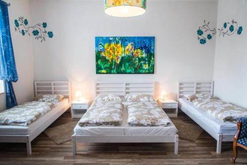 Vierbettzimmer (OG) mit TV